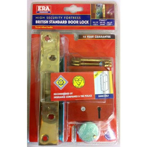 BRITISH STANDARD DOOR LOCK 3in ERA 362-32